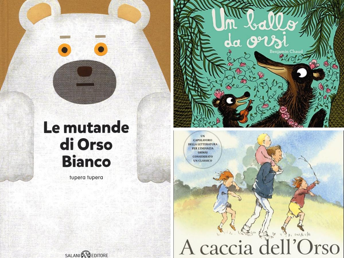 I miei 3 libri preferiti (a base di orsi)